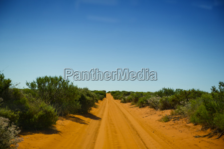 road in peron national park west