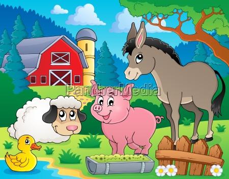 farm animals theme image 6