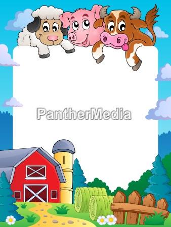farm theme frame 4