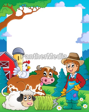 farm theme frame 3