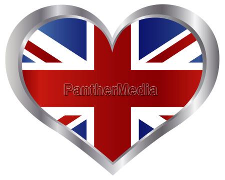 england fahne form flagge gestalten britannien