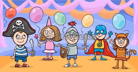 illustration kostuem tracht cartoon veranschaulichung zeichentrickfilm