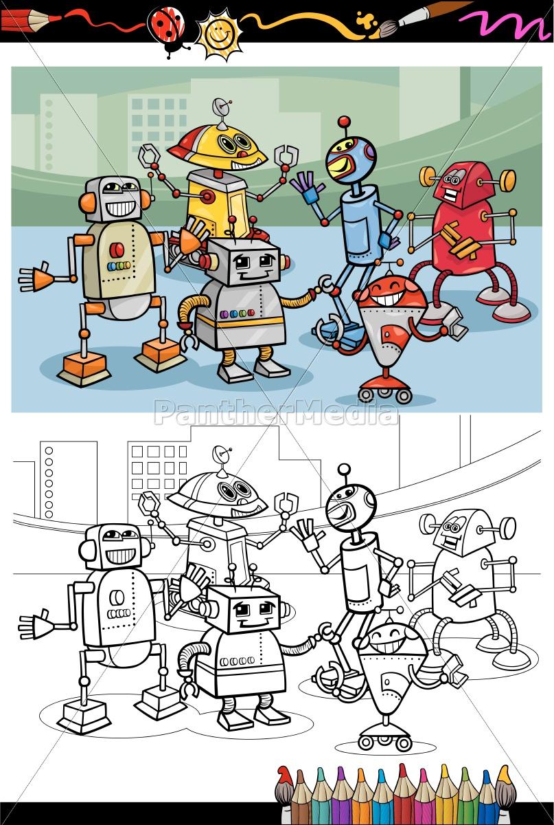 roboter malvorlagen kostenlos  kinder zeichnen und ausmalen