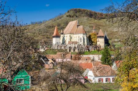 biertan verstaerkte kirche transylvanien