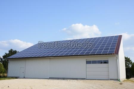 umwelt energie strom elektrizitaet scheune oekologie