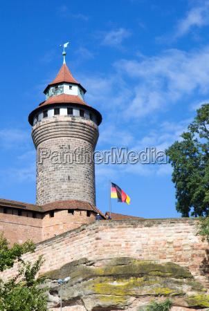 sinwellturm nuernberger kaiserburg