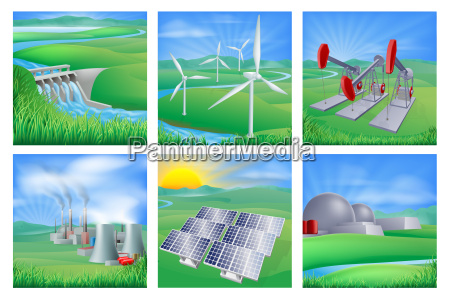power and energy sources