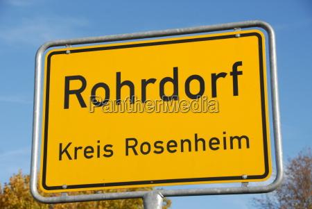rohrdorf ortstafel