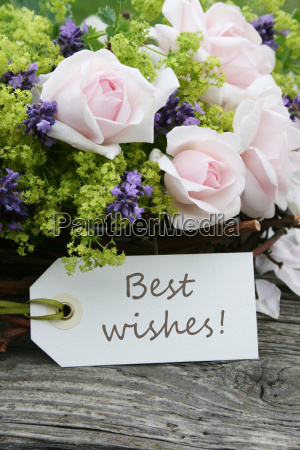 all the best wish wishes roses