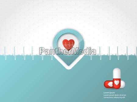 medizinische, hintergrunddesign, mit, symbolen - 10197195