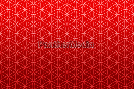 endless texture red flower of