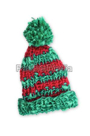 rotbraune strickmuetze wooly hat