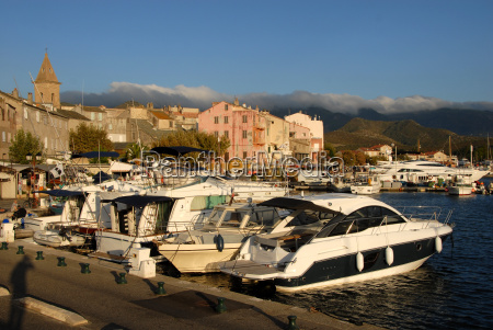 seaport saint florent in corsica