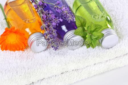 wellness with calendula lavender and balm