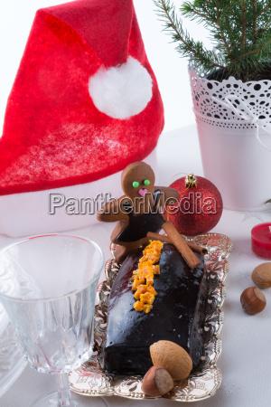 christmas table deko