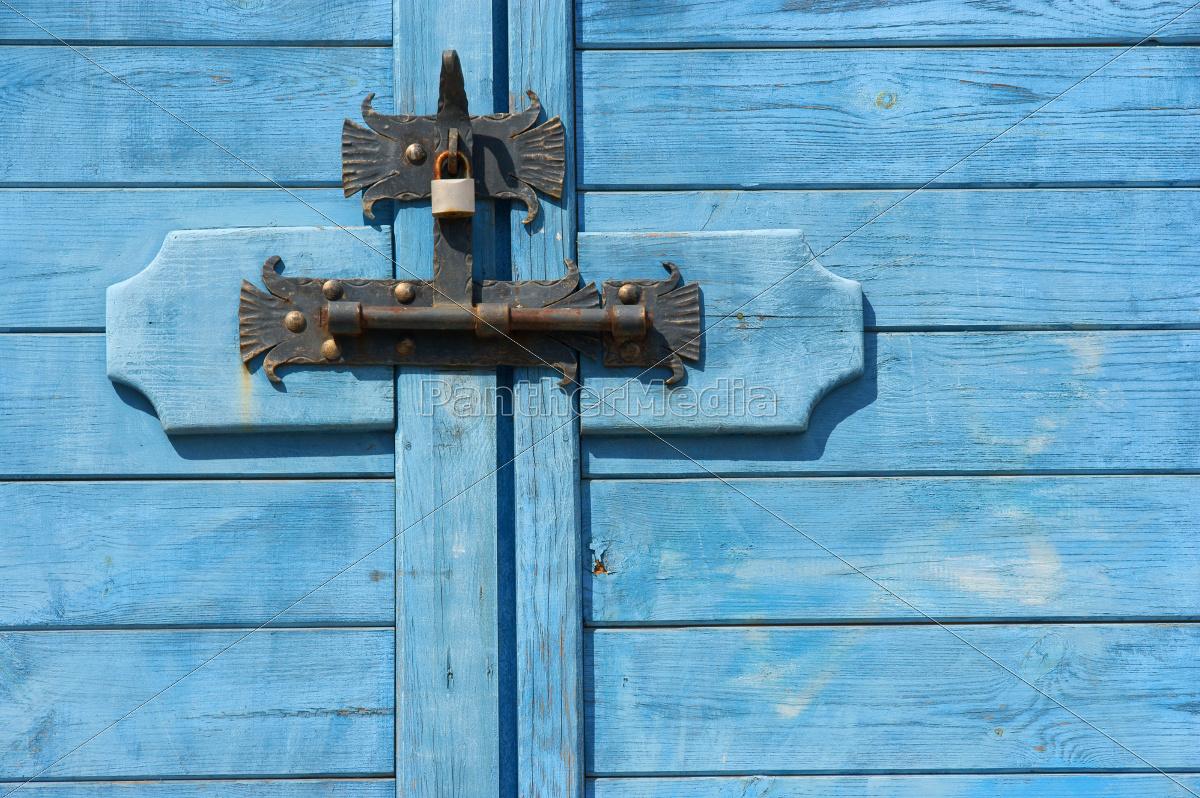 Verschlossene Tür