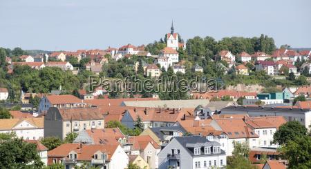 cityscape of meissen