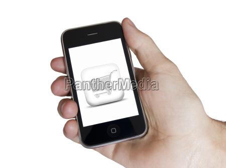 moderne touch weissen bildschirm telefon e