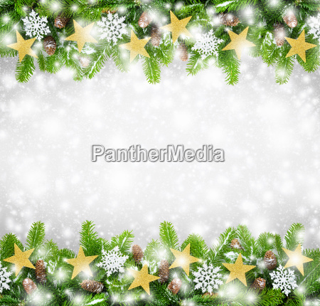 weihnachtlicher rahmen hintergrund