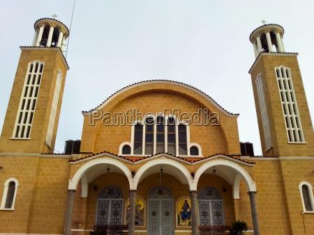 kirche zypern famagusta paralimni kunst orthodox