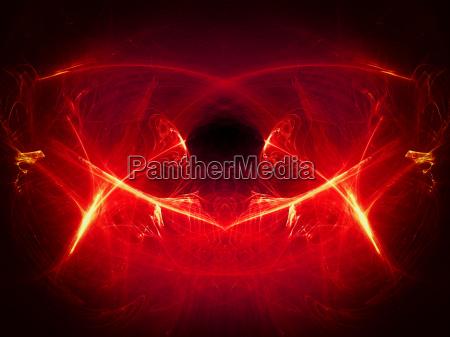 background illustration lichtspiel feuer