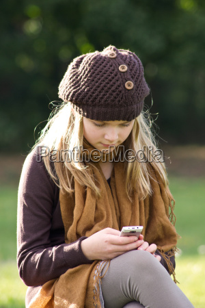 telefon telephon handy mobiltelefon hut schal