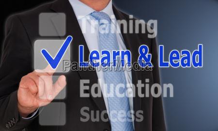 lernen und blei