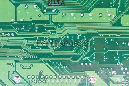 abstract background with old computer circuit