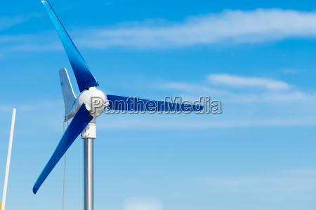 wind turbine producing alternative energy renewable