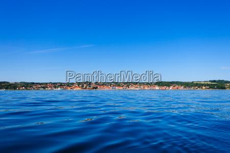 wyspa fort christiansoe bornholm morze baltyckie
