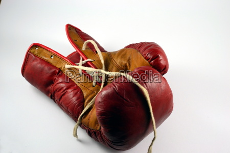 study of a boxing glove