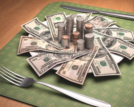 hunger for money