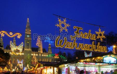 wien weihnachtsmarkt vienna christmas market
