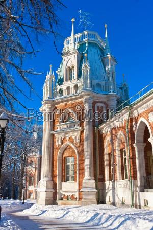 tsaritsyno in moscow