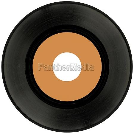 vinyl record cutout