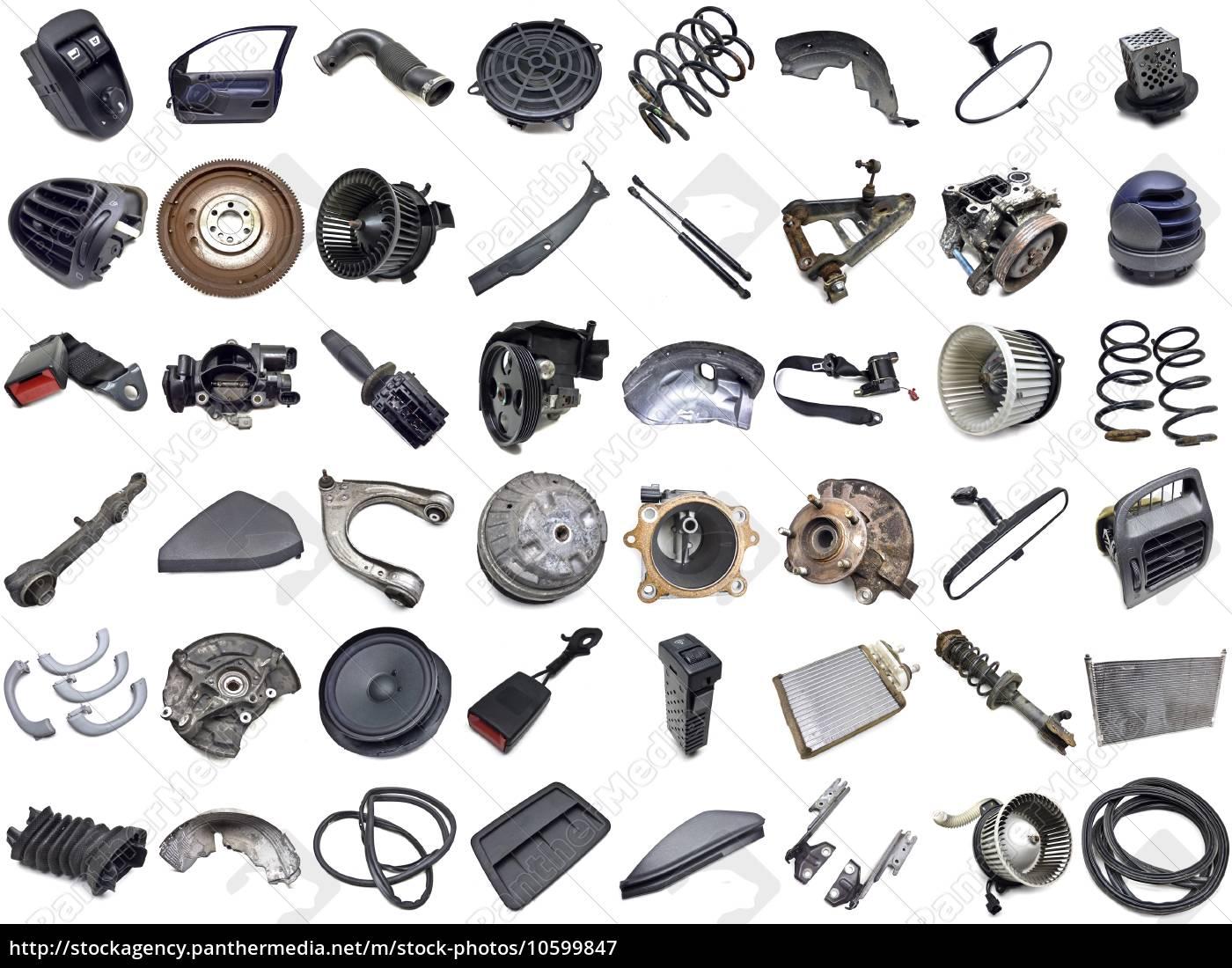 Autoteile - Lizenzfreies Bild - #10599847 - Bildagentur PantherMedia