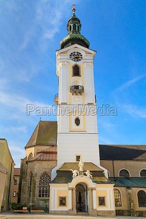 freistadt baroque church upper austria