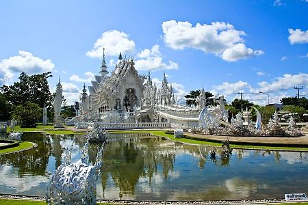 thai tempel genannt wat rong khun