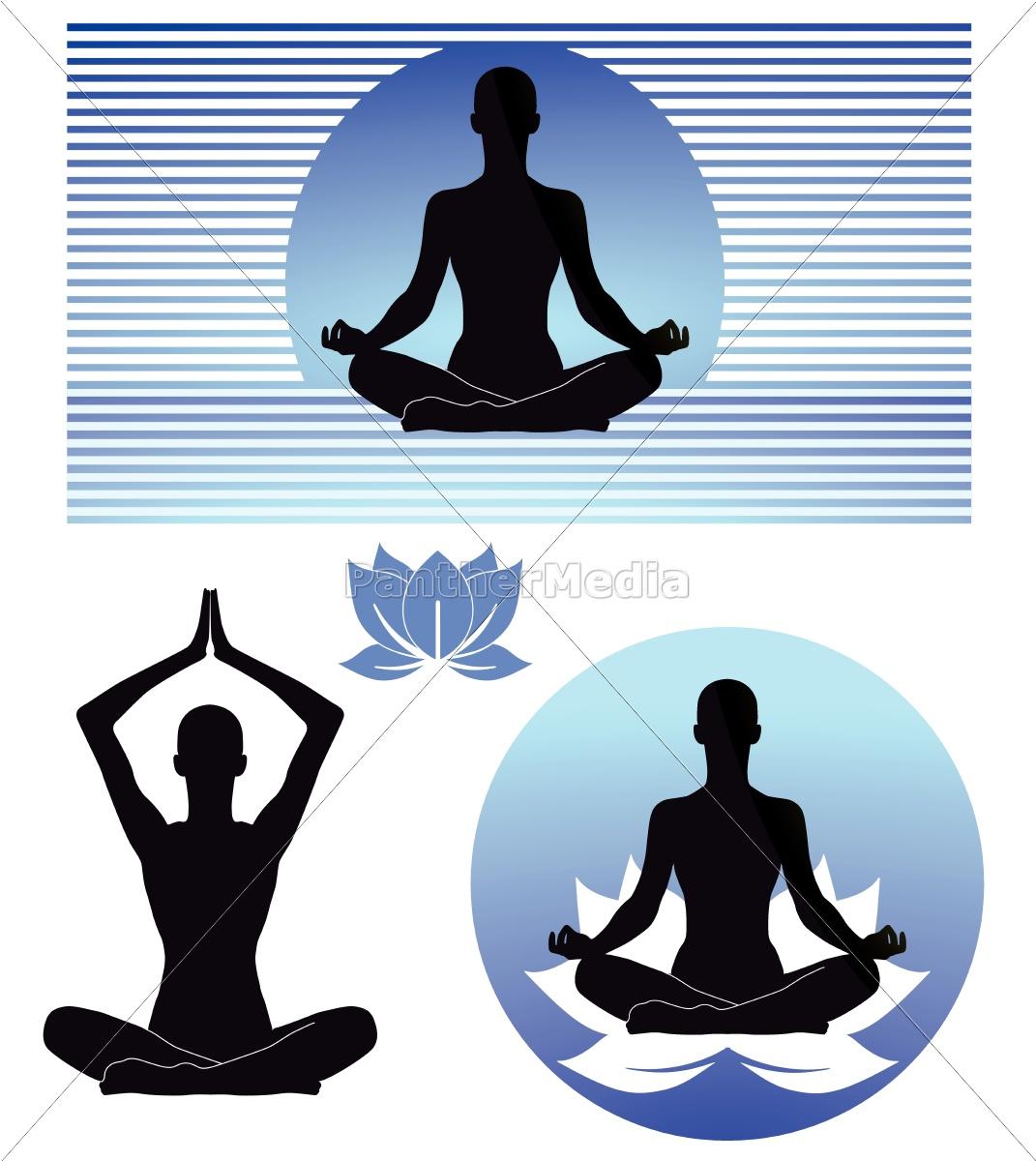 Yoga Zeichen Lizenzfreies Bild 10667501 Bildagentur Panthermedia