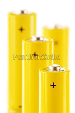 zusammensetzung mit alkalischen batterien chemische abfaelle