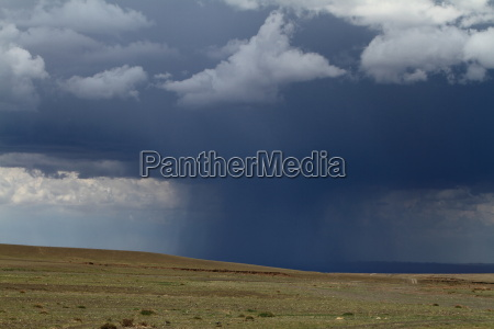 regenzeit in der mongolei