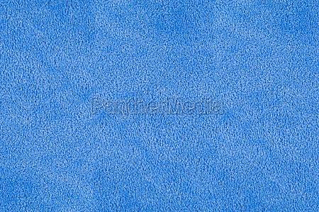 blaue pluesch terry textur