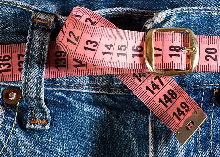 jeans und zentimeter