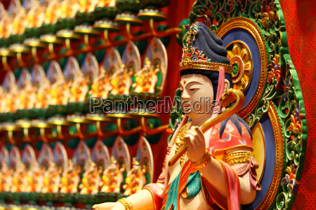 chinesische traditionelle statue kuan yin