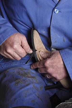 stiefel menschen leute personen mensch hand