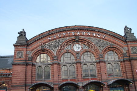 the bremen central station