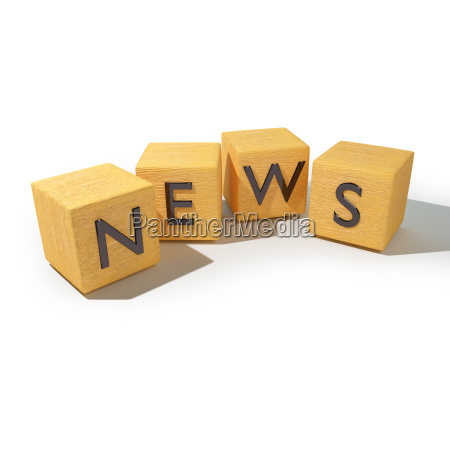 holzwuerfel mit news