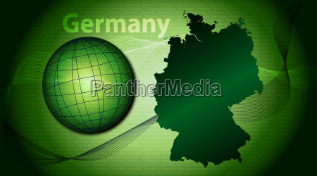 illustration of germany