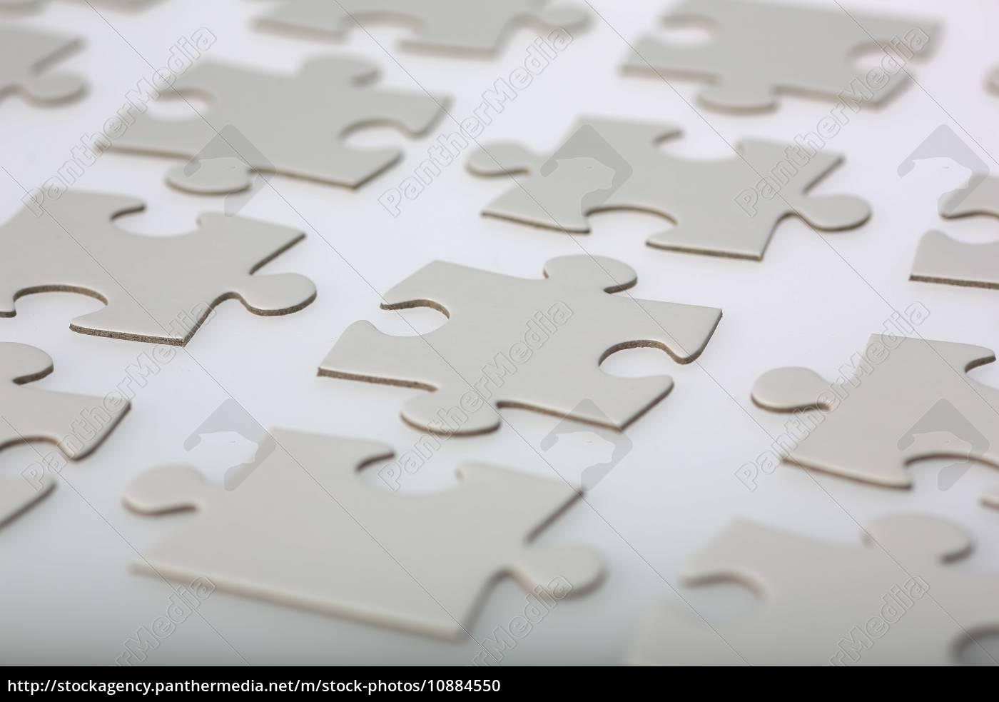 Stock Photo 10884550   Ordentlich Puzzle Stücke Aligned