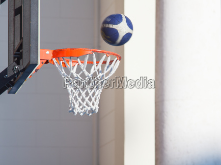 ball korb flaeche sport basketball korbball